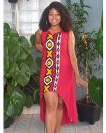 Vestido Afro Sereia Regata