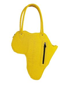 Bolsa África Ombro-Amarelo