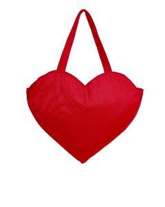 Bolsa Coração-Vermelho