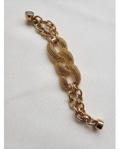 Bracelete Yaa Dourado -Amarelo-M