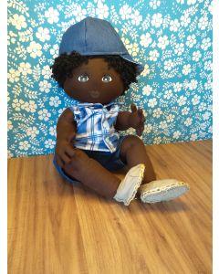 Boneco de Pano UpaNeguinha modelo Bebê M