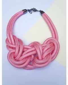 Colar Clássico-Rosa Pink