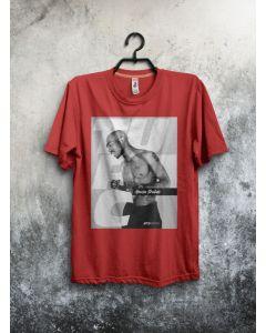 Camiseta Tupac Amaru Shakur-Vermelho-P