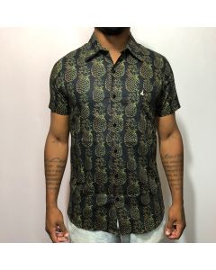 Camisa Duo Abacaxi-Preto-M