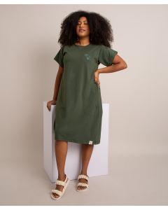 Vestido Bordado Identidade-Verde-PP