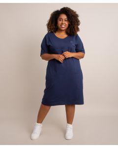 Vestido Bordado Identidade-Azul-PP