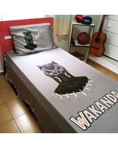 Jogo de cama pantera negra