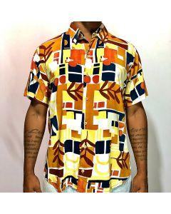 Camisa Duo Cidade -Marrom-P