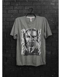 Camiseta Black Heroes-Cinza-P
