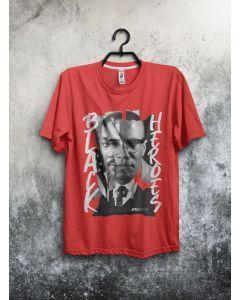 Camiseta Black Heroes-Vermelho-P