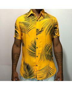 Camisa Duo Ramos Dourado-Amarelo-M