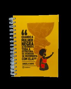 Angela Davis - Caderno 15x21cm
