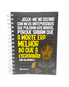 Killmonger - Caderno 15x21cm