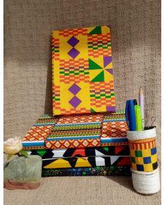 Caderno 14x21 Roxo e Amarelo