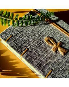 Caderno Ankh A5-Amarelo