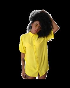 Camisa Amarela-Amarelo-M