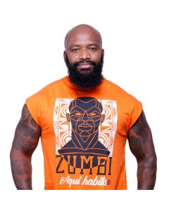 Zumbi Aqui Habita - Camiseta Regata Long-G3