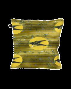 Capa de Almofada Andorinha Amarela 40x40
