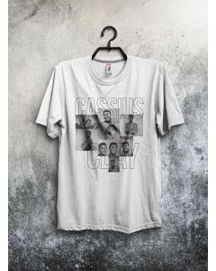 Camiseta Cassius Clay-Branco-P