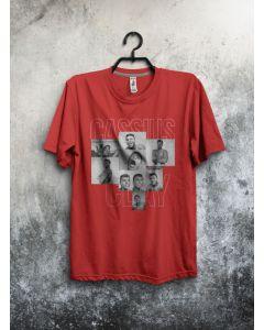 Camiseta Cassius Clay-Vermelho-P