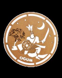 Quadro Ogum em MDf