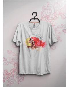 Camiseta Diva Negra-Branco-P