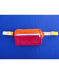 Pochete Retangular Bicolor Verão Blackuda Toy Art