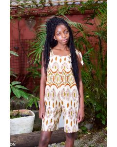 Pantacourt Tecido Africano Semente Crioula