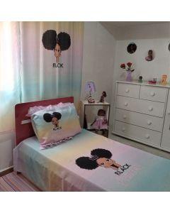 Jogo de cama black princess