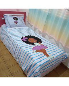 Jogo de cama Menina