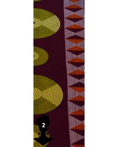 Camisão Vestido Color Block-Multicor 01-P