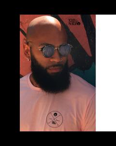 Camiseta Long line 100%NEGRO OX-GG-Rosa Pink