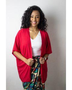 Kimono Básico Cereja