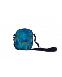 Sholder Bag Africana Azul