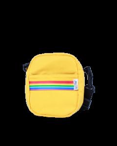 Sholder Bag Amarela Faixa