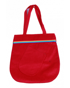 Bolsa Vermelha Faixa