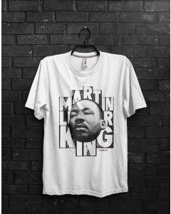 Camiseta Martin Luther King-Branco-GG