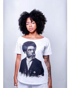 Camiseta Resisto OPM - Machado de Assis (Canoa)
