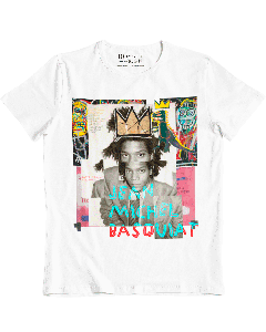 Camiseta Basquiat-Branco-M