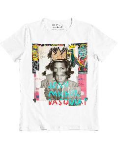 Camiseta Basquiat-Branco-G
