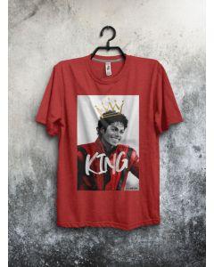 Camiseta MJ King-Vermelho-P