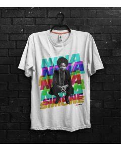 Camiseta Nina Simone II-Branco-GG