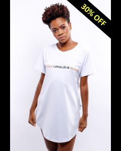Camiseta Umsuka Longline Cores Relevo Unissex