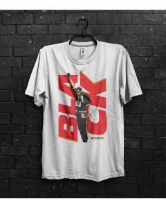 Camiseta Black Power-Branco-P