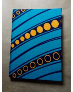 Caderneta 9x14cm  AzulAmarelo