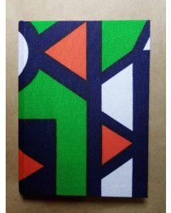 Caderneta 9x14 cm VerdeVermelho